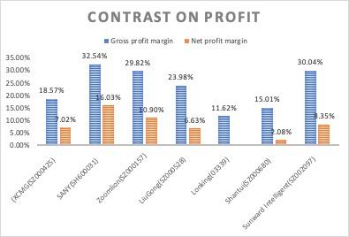Figure 6: Profit (Source: financial reports)